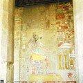 Fresque du temple de Hatshepsout