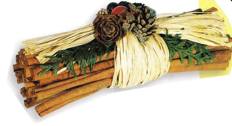 fagot de cannelle ( petites décorations de table )
