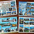 Echange de cartes postales chez mafalda