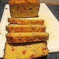 Cake au poivrons/oignon/thon/curry