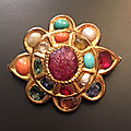 A Navaratna Pin, Jaipur, <b>India</b>, 18th century