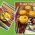 Flan coco (cuisine du placard)