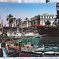 Algérie - Bône - port et cours Bertagna