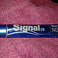 Signal White now dentifrice <b>blancheur</b> instantanée