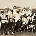 Rouen, Champ de Mars, artilleurs du 43e RAC, (carte-photo coll. Verney-gandeguerre)