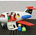 Fisher price : #183 play family fun jet