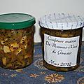 Confiture pomme kiwi