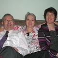 Les trois frangins : Claude, Annie et Michèle