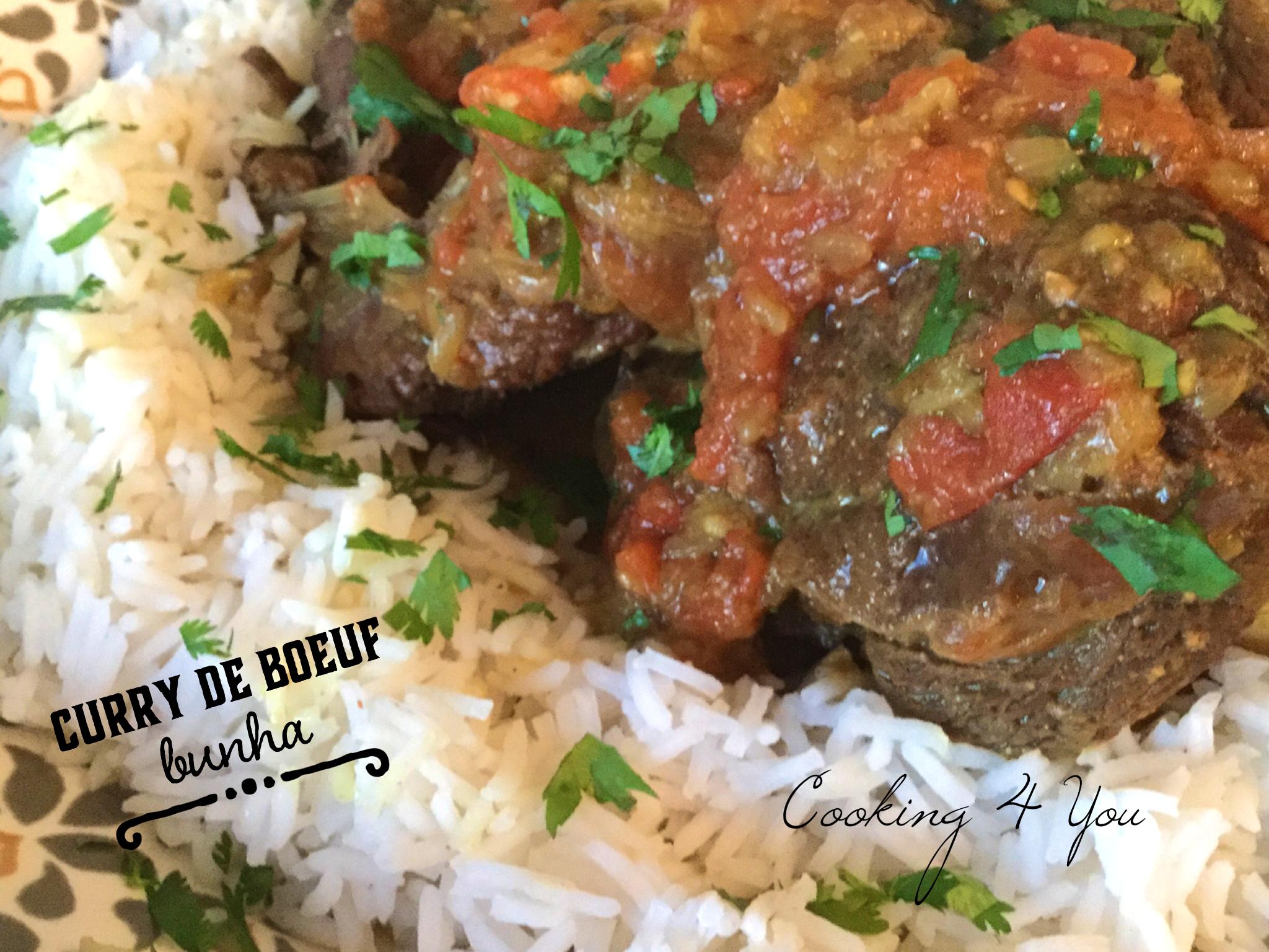 Boeuf bhuna ou recette Bengali de curry de boeuf aux épices
