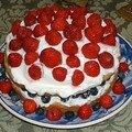 Shortcake au bleuets et fraises !!!!!!!!!