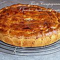 Tourte campagnarde (jambon, lardons et champignons)