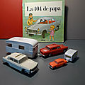 La 404 de Papa. Un nouvel <b>album</b> pour <b>enfant</b> de la petite collection dédiée aux voitures, un livre publié chez Odège !