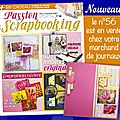 Le n°56 de passion scrapbooking sort demain