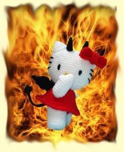 hello kitty flamme