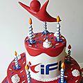 Gâteau IFLY PARIS