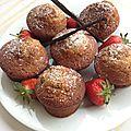 Muffins vanille de madagascar et sucre complet des philippines