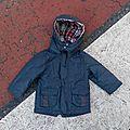 Manteau de pluie union jack, 18 mois