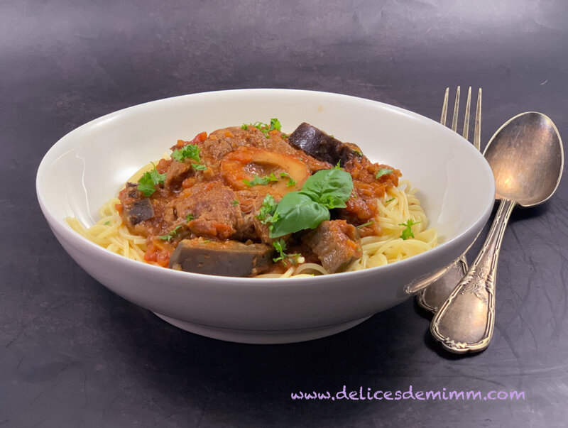 Osso bucco aux aubergines 4