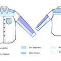 1 chemises = 6 créations