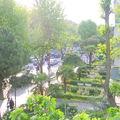 l'Avenue vue du balcon de l'institut