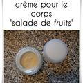 crème pour le corps salade de fruits2