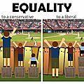 En finir avec l'opposition égalité/équité