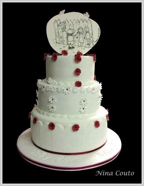 Gateau mariage nimes Wedding cake1é1