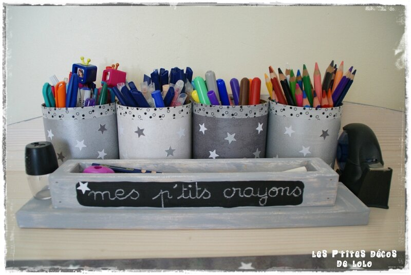 pots à crayons lison