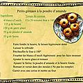 recette gateaux poudre amande