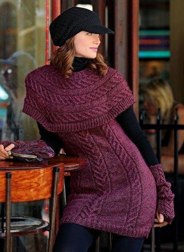Robe en tweedine