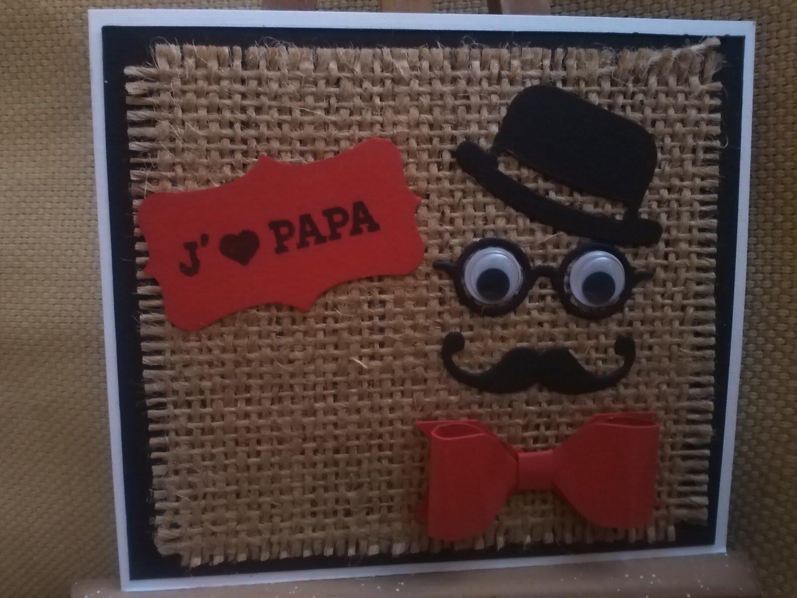 Carte fête ds pères
