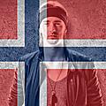 26/39 - Norvège - TIX - <b>Fallen</b> <b>angel</b>