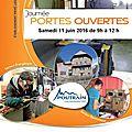 Infos lycée poutrain: journée portes ouvertes le 11 juin 2016 de 9h à 12 h