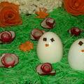 Des petites poules...de pâques.