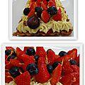Le fraisier de philippe conticini