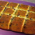 Gâteau au yaourt au sucre de canne & pépites de chocolat