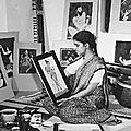 Metropolitan Museum of Art opens first retrospective exhibition devoted to the Indian artist Y. G. Srimati