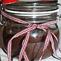Pâte à tartiner chocolat - marron
