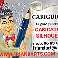 «CARIGUIGNOL», l'animation caricaturiste 100% lyonnaise !