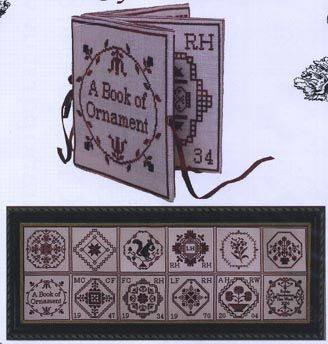 Cherrished stitches : 10 € (book of ornament)