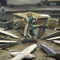 Lancelot tronant sur la table ronde