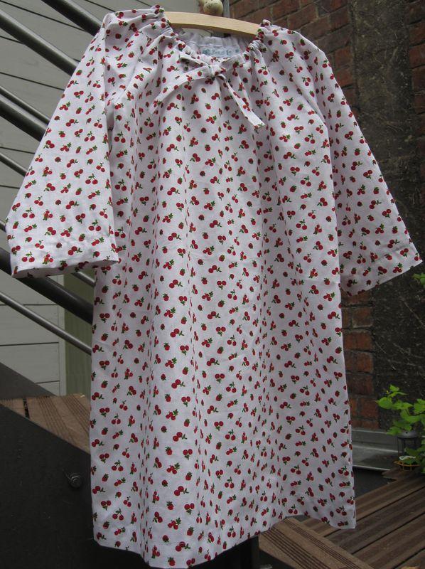 Chemise de nuit cerises (4)