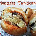 Fricassées tunisiennes - version 2