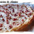 Flammeküeche express aux lardons & fromage blanc