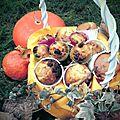 Cupcakes sirop d'érable / chocolat blanc