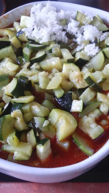 plat courgettes