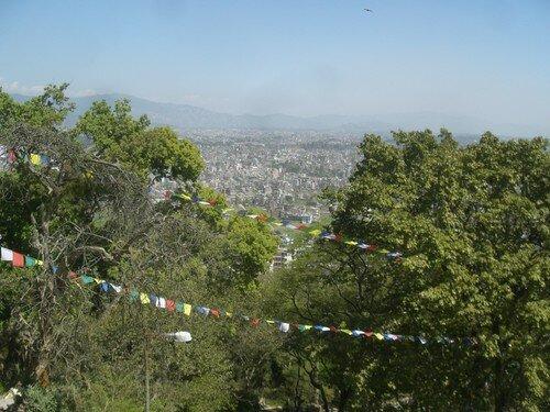 Kathmandou, a perte de vue
