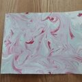 Id enfants : du papier marbré avec de la mousse à raser!