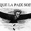 Ce vautour ne jouit qu'à l'idée de déclencher des guerres, des bombardements, des affrontements et des massacres.