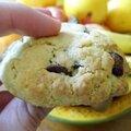 Cookies aux trois chocolats, miam miam !